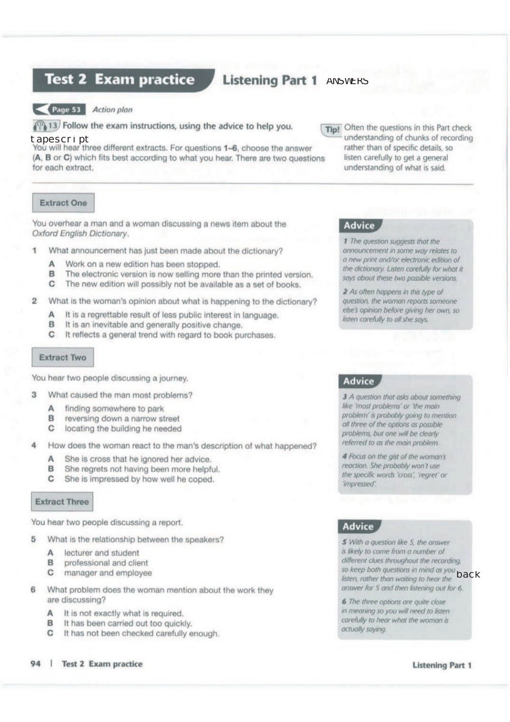 Advanced trainer 6 practice tests with answers book4joy (1) page 95