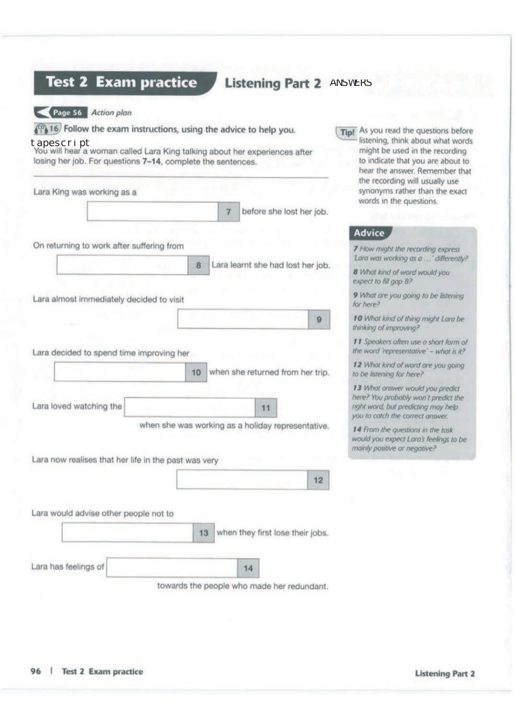Advanced trainer 6 practice tests with answers book4joy (1) page 97