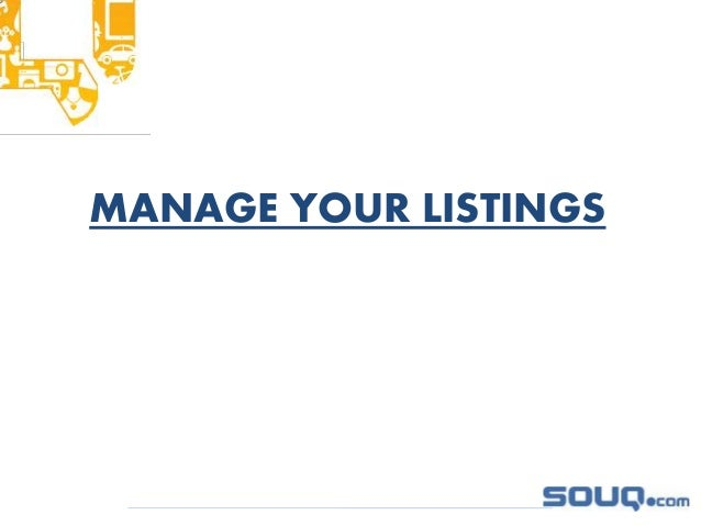 Selling on Souq com advanced training