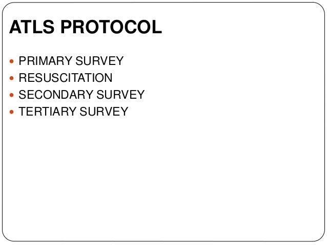 Advanced trauma life support (atls) Slide 3