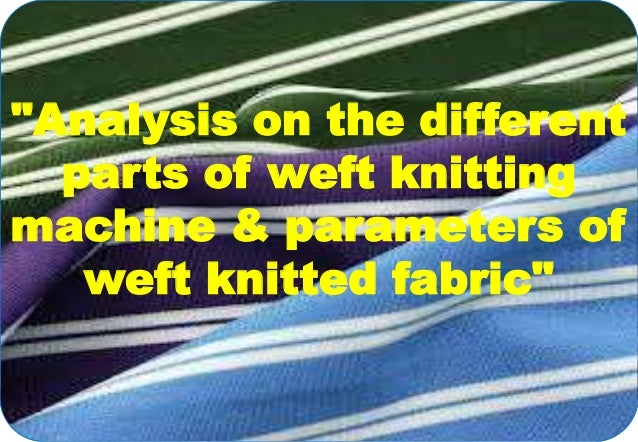 Buckling analysis of plain knitted fabric