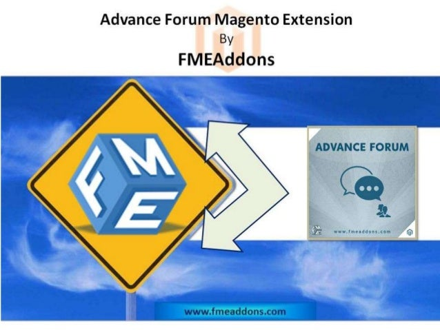 Magento Advance Forum Extension Advance Forum Magento Extension This Magento Extension adds a separate support section on ...