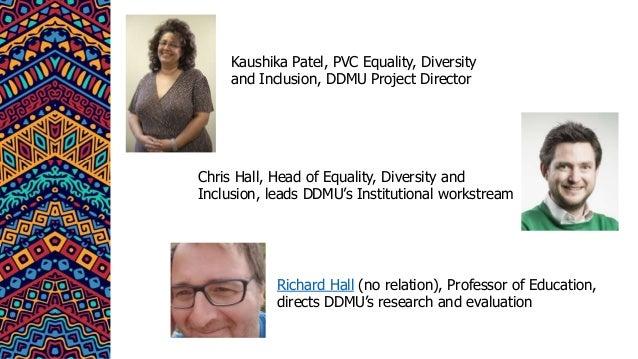 Decolonising DMU: Building the Anti-Racist Classroom Slide 3