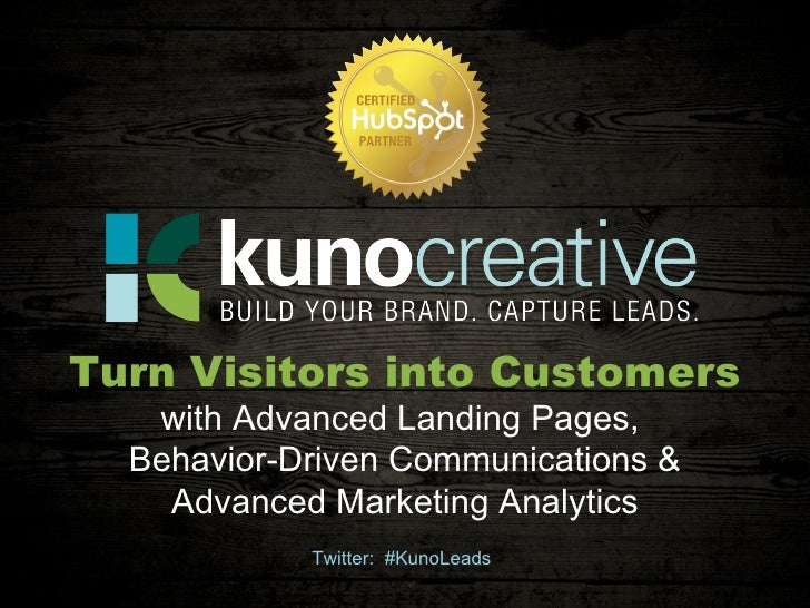 Twitter:  #KunoLeads Turn Visitors into Customers with Advanced Landing Pages,  Behavior-Driven Communications & Advanced ...