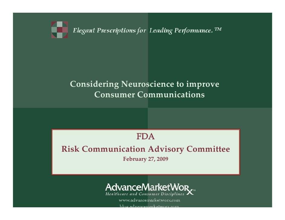 Elegant Prescriptions for Leading Performance. TM      ConsideringNeurosciencetoimprove       ConsumerCommunications ...