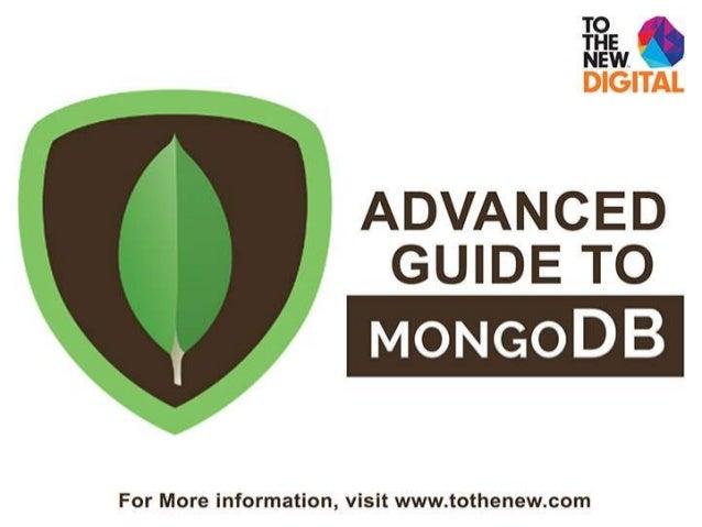 MongoDB (Advanced) ByAmitKumar