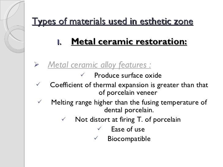 Advances in All Ceramic Restorations Slide 2