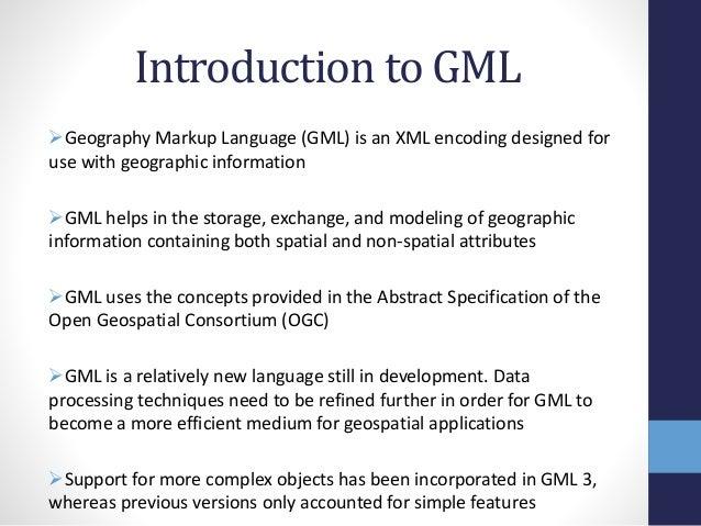 Geography Markup Language - Ge...
