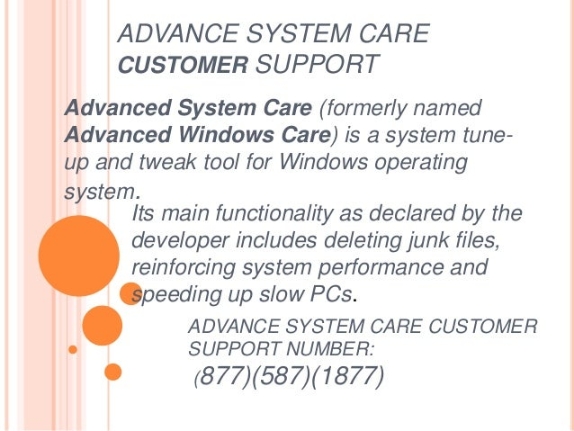advanced system repair support