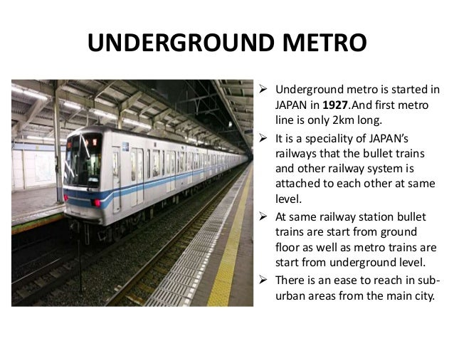 Advance transportation system of japan
