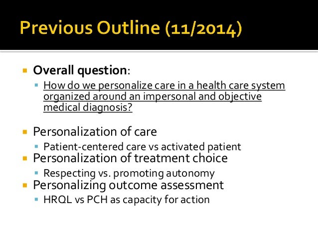 Advancing from activated patient to autonomous patient in chronic illness care Slide 2