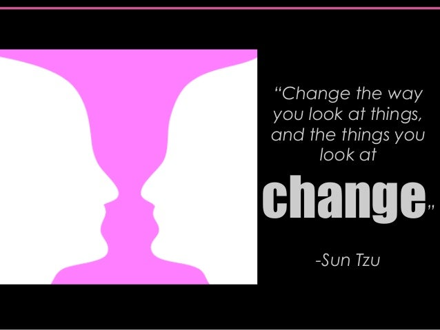 how to change the way you look