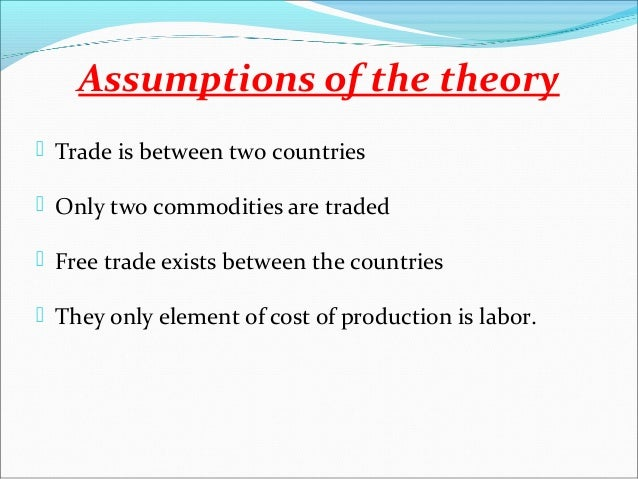 advantage and disadvantage of free trade in bangladesh Comparative advantage of ethiopia and the role of international purchasing  ricardo's theory of comparative advantage states that specialization and free trade.