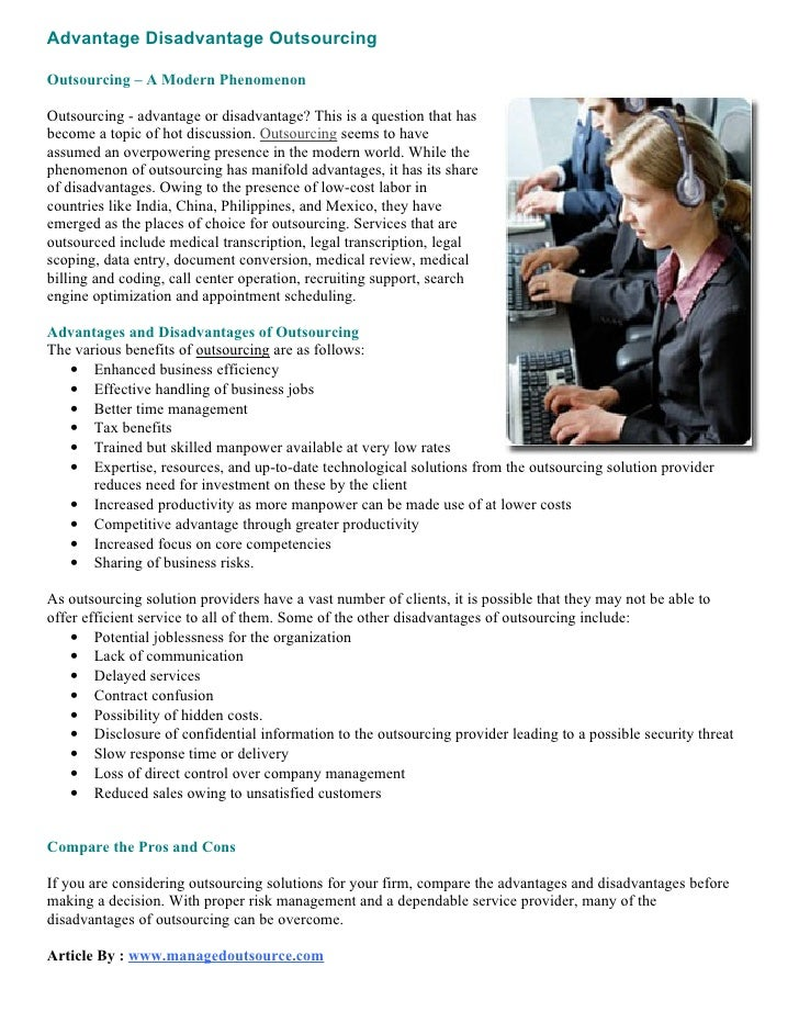 essay on business process outsourcing The objective is to develop a software for bpo management system business process outsourcing (bpo) is a subset of outsourcing that involves the contracting of the operations and responsibilities of specific business functions (or processes) to a third-party service provider.