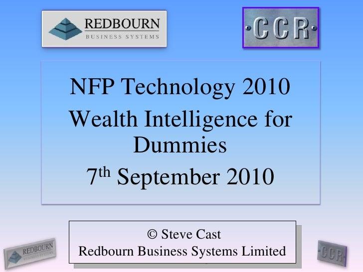 Advantage Fundraiser NFP Technology 2010 exe
