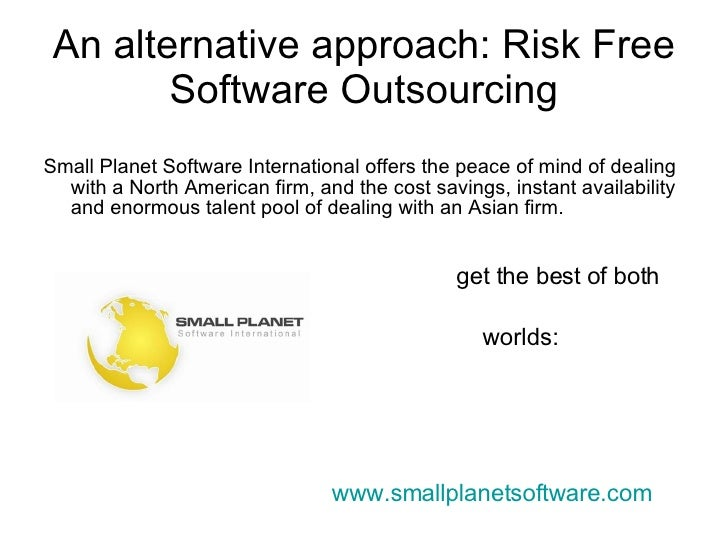 Advantages And Disadvantages Outsourcing