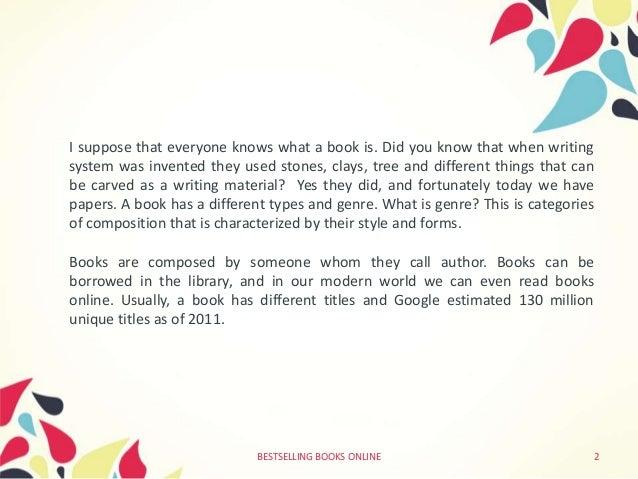 advantages of books essay