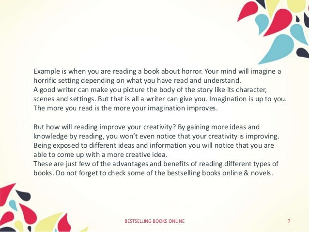 Uses of reading books essay