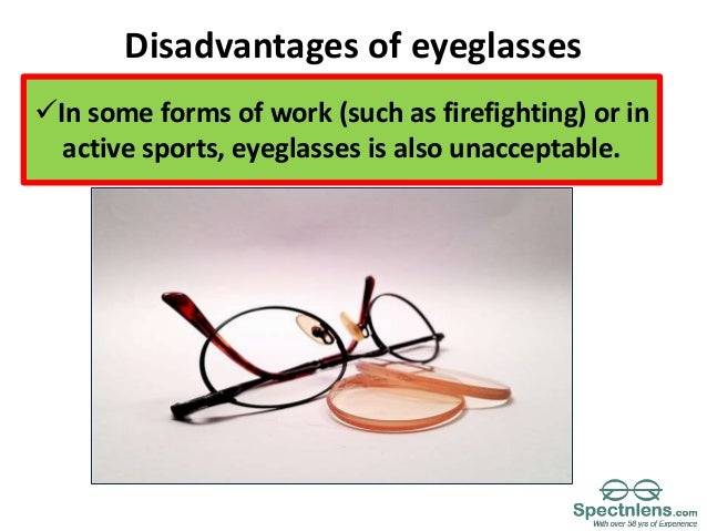 5286bcaba42 Advantages and disadvantage of eyeglasses