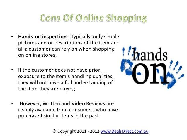 Essay online shopping