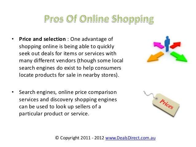 essay online shopping advantages and disadvantages