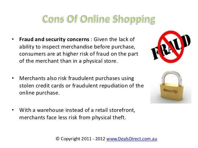the advantange of online shopping Advantages and disadvantages of shopping online july 18, 2012 today the internet so readily accessible to us and more people are turning to online.