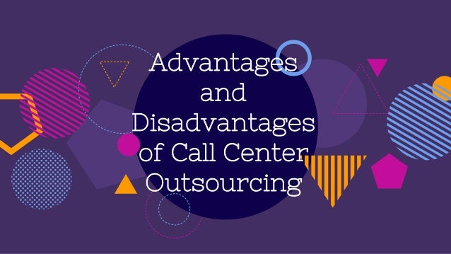 Technology Management Image: Advantages And Disadvantages Of Call Center Outsourcing