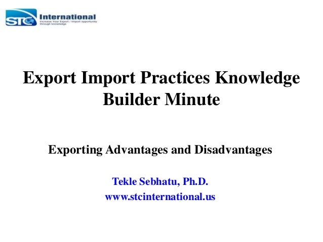 import substitution advantages and disadvantages A discussion and analysis of import substitution strategy and export-led growth strategy which can solve the problem of surplus products and unused resources however, there are also some disadvantages and applicable scope in the the detailed analysis on import substitution.
