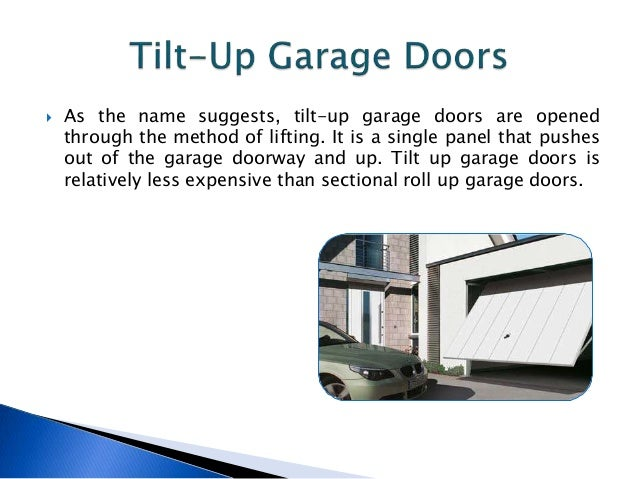 Advantages And Disadvantages Of Garage Lift Door Types