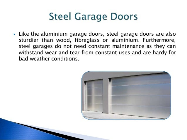 8.  Fibreglass Garage Doors ...