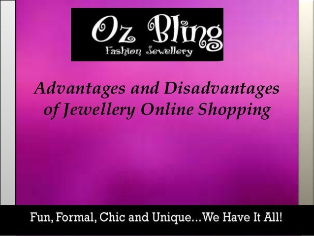 the advantages and disadvantages of shopping online
