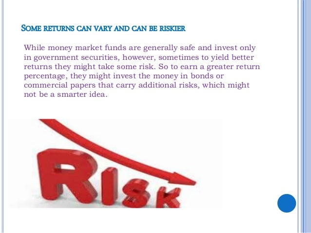 money market account risk Advantages and disadvantages of money market instrument