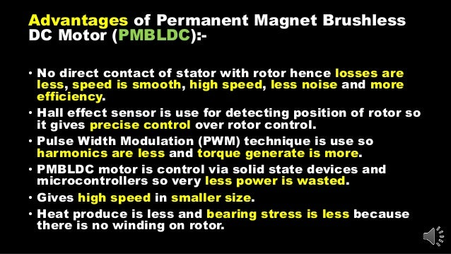 eee advantages and disadvantages of permanent magnet