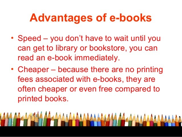 ebooks vs real books essay Print book vs ebook but forums and our own bookmasters facebook page show that people still want to feel the real book in their hands that leads us to pod.