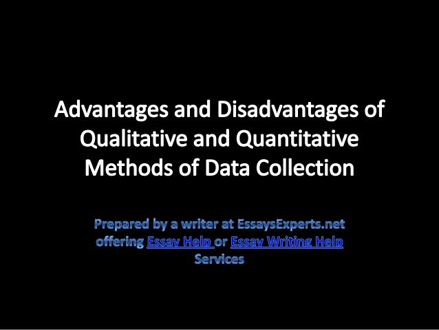 quantitative research advantages and disadvantages There are some advantages and disadvantages to the advantages and disadvantages of mixed methodology and disadvantages of mixed methodology research.
