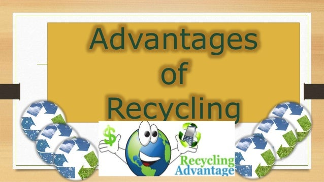 the advantages and drawbacks of recycling This article takes a look at the advantages and disadvantages of recycling what is recycling to obtain a new product from another waste, or to transform a product that has exhausted its life to obtain another type of material, is what is defined as recycling recycling can occur through several options reuse it consists of recovering the product itself to give it a new [.