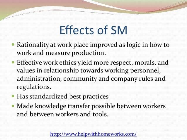 Advantages and Disadvantages of Scientific Management