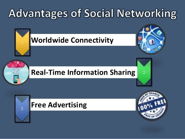 advantage of social networking Social networking can open up professional opportunities and create useful contacts but there is also a downside to spending too much time on social media.