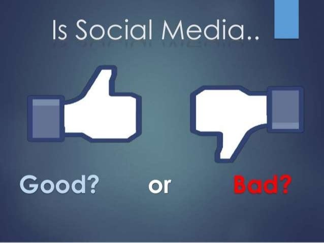 What are the advantages and disadvantages of social media?