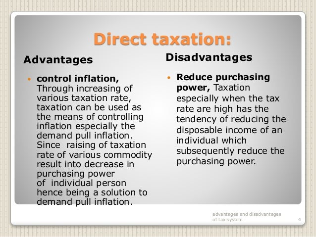 The Advantages of Taxes | Sapling.com