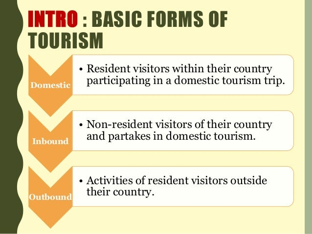 advantages of tourism