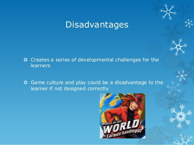 essay on advantages and disadvantages of computer games
