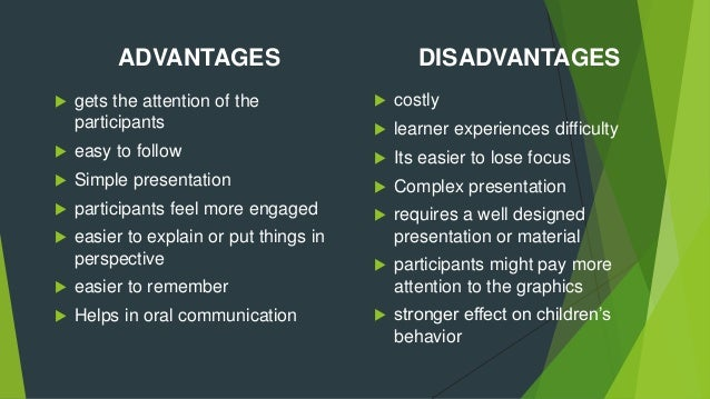 Advantages of oral presentation