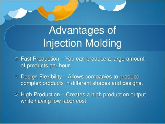 Advantages and Disadvantages of Injection Molding