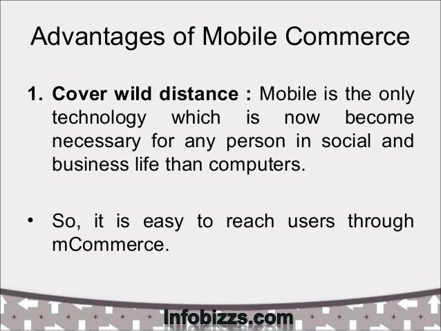 Advantages disadvantages of mobile technology
