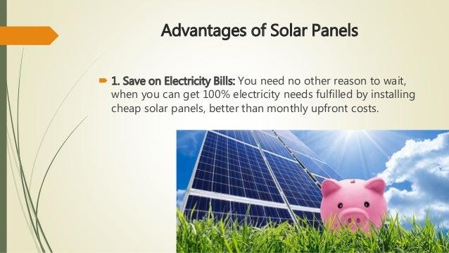 Advantages & Disadvantages of Solar Panels