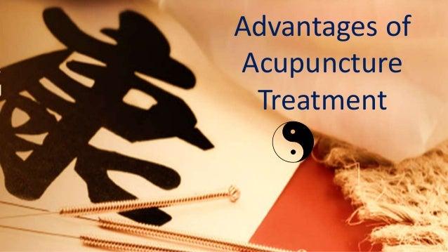Advantages of Acupuncture Treatment