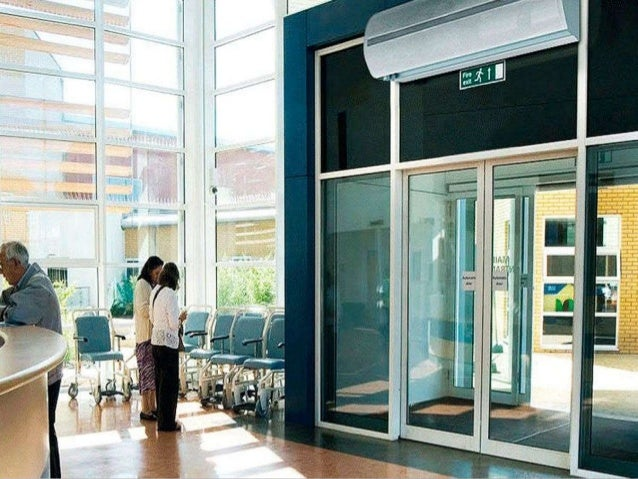 Advantages of air curtains use of air curtains in different fields