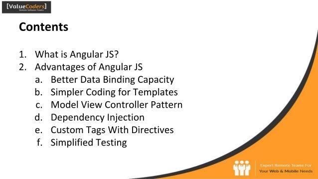 Advantages of angular js for development Slide 2