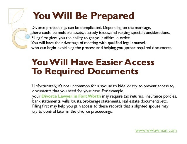 You Will Be PreparedYou Will Be Prepared Divorce proceedings can be complicated. Depending on the marriage, there could be...